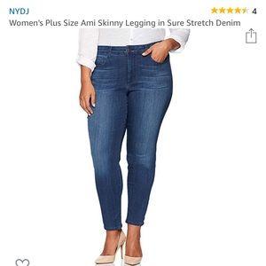 NYDJ Ami Skinny Ankle Jeans - 18w